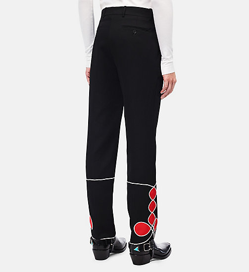 CALVINKLEIN Parade Trousers - BLACK - CALVIN KLEIN CLOTHES - detail image 1