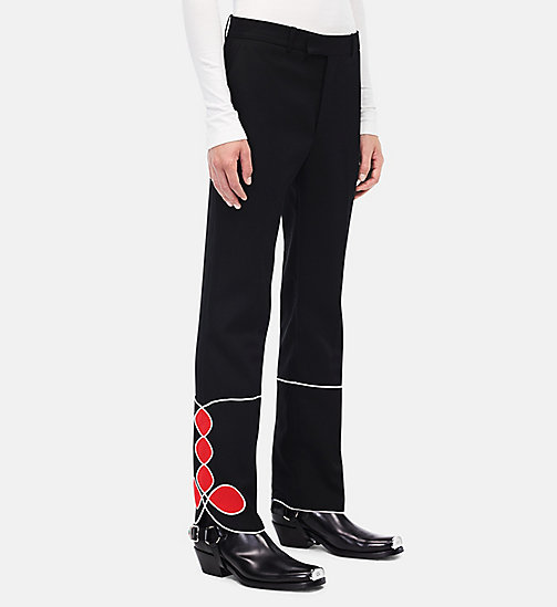 CALVINKLEIN Parade Trousers - BLACK - CALVIN KLEIN CLOTHES - main image