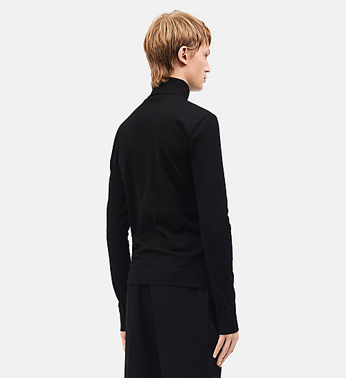 CALVINKLEIN 205W39NYC Turtleneck - BLACK - CALVIN KLEIN CLOTHES - detail image 1
