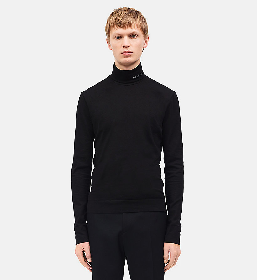 CALVINKLEIN 205W39NYC Turtleneck - WHITE - CALVIN KLEIN MEN - detail image 2