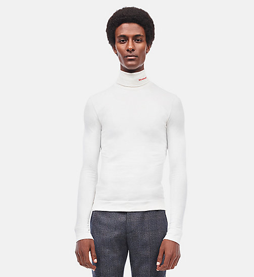 CALVINKLEIN 205W39NYC Turtleneck - WHITE - CALVIN KLEIN CLOTHES - main image