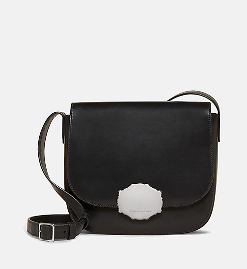 CALVINKLEIN Western Saddle Bag - BLACK - CALVIN KLEIN SHOES & ACCESORIES - main image
