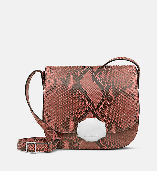 CALVIN KLEIN Western Saddle Bag - BLUSH - CALVIN KLEIN SALE - detail image 1