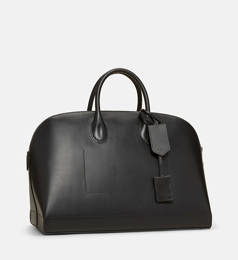 CALVINKLEIN Calf Leather Tote Bag -  - CALVIN KLEIN WOMEN - detail image 1