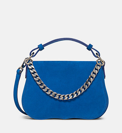 CALVINKLEIN Small Western Shoulder Bag - LAPIS - CALVIN KLEIN SHOES & ACCESSORIES - main image