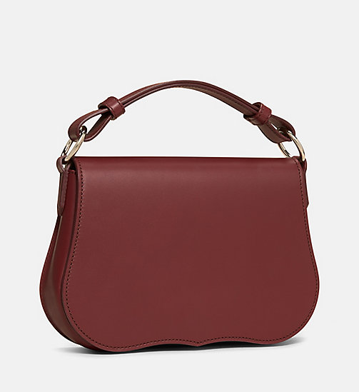 CALVINKLEIN Small Western Shoulder Bag - BORDEAUX - CALVIN KLEIN SHOES & ACCESSORIES - detail image 1