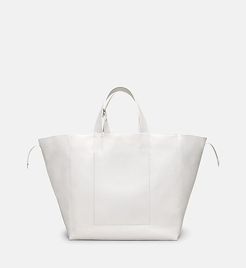 CALVINKLEIN Cowboy Boots Tote Bag - WHITE/BLACK - CALVIN KLEIN SHOES & ACCESSORIES - detail image 1