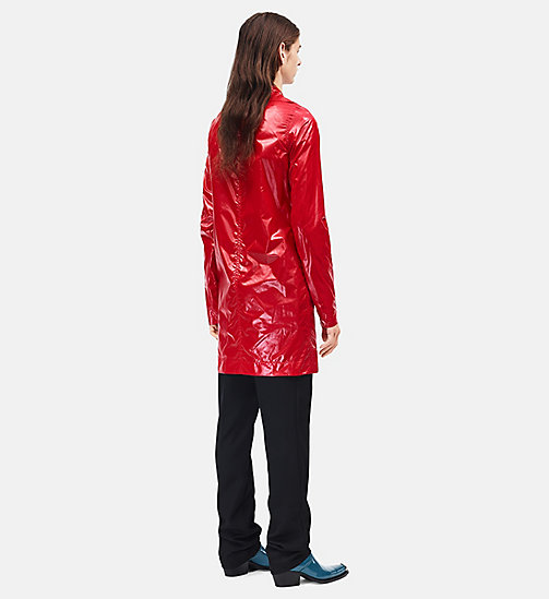 CALVINKLEIN Lightweight Nylon Jacket - BRIGHT SCARLET - CALVIN KLEIN CLOTHES - detail image 1