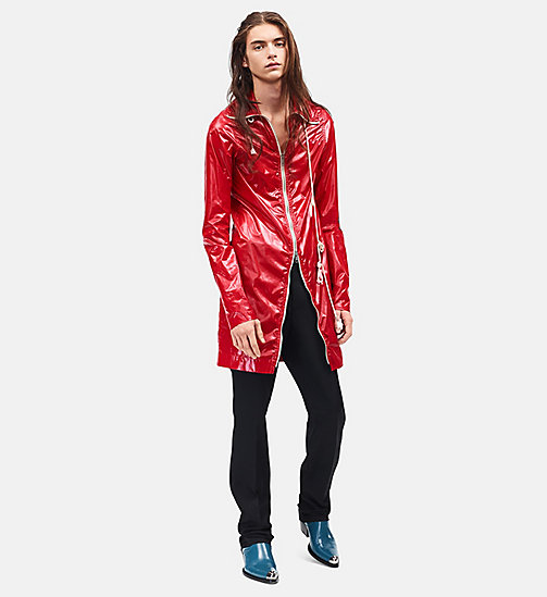 CALVINKLEIN Lightweight Nylon Jacket - BRIGHT SCARLET - CALVIN KLEIN CLOTHES - main image