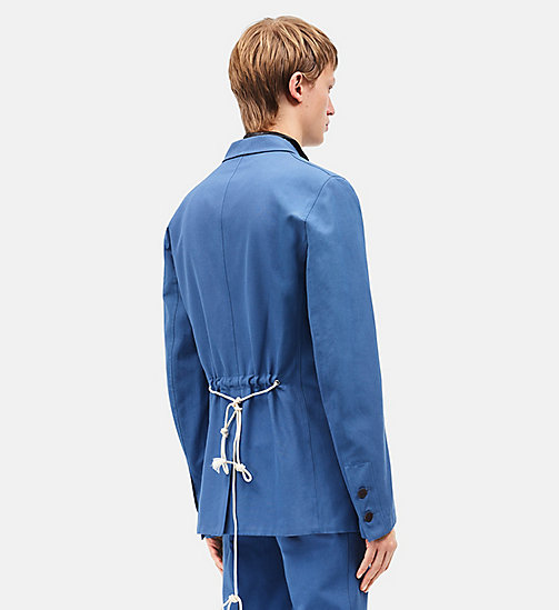 CALVINKLEIN Boxy Single-Breasted Tent Jacket - AZURE -  CLOTHES - detail image 1