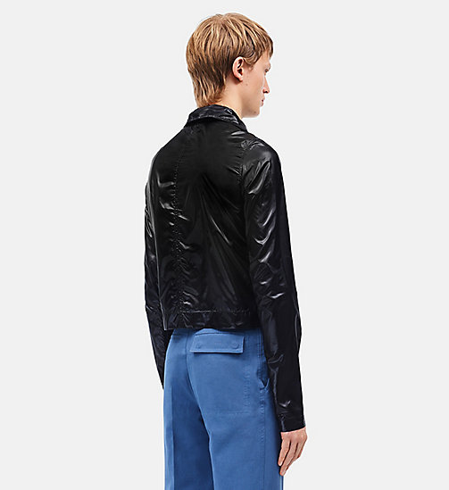 CALVINKLEIN Lightweight Nylon Cropped Jacket - BLACK - CALVIN KLEIN CLOTHES - detail image 1