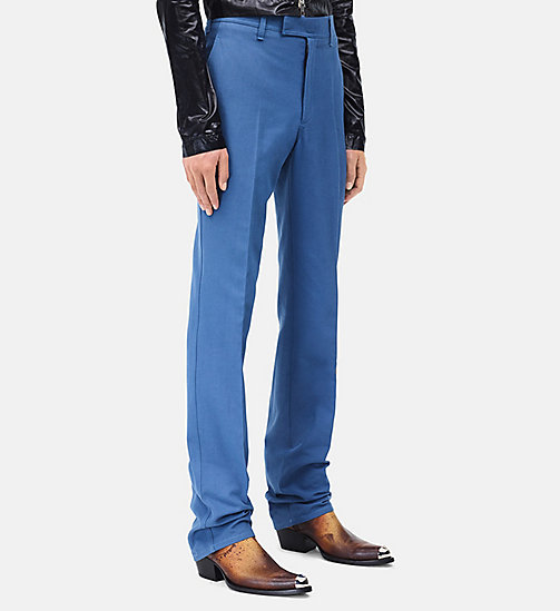 CALVINKLEIN Tailored Tent Trousers - AZURE - CALVIN KLEIN CLOTHES - detail image 1