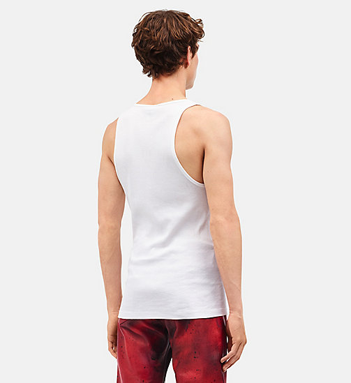 CALVINKLEIN Little Electric Chair tanktop - OPTIC WHITE - CALVIN KLEIN KLEDING - detail image 1