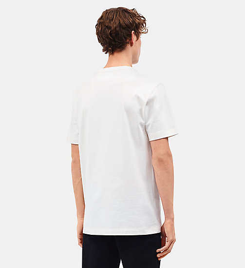 CALVINKLEIN Little Electric Chair Patch Pocket T-shirt - WHITE GREEN RED - CALVIN KLEIN CLOTHES - detail image 1
