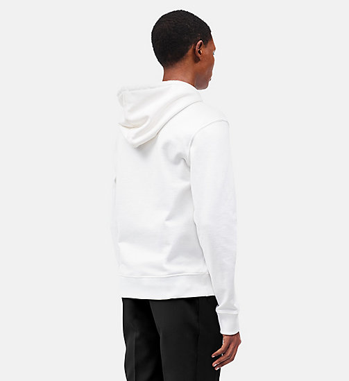 CALVINKLEIN Dennis Hopper Hooded Sweatshirt - WHITE MOLTEN LAVA -  CLOTHES - detail image 1