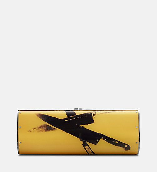 CALVINKLEIN Acrylic Knives Clutch - SUN - CALVIN KLEIN SHOES & ACCESSORIES - detail image 1