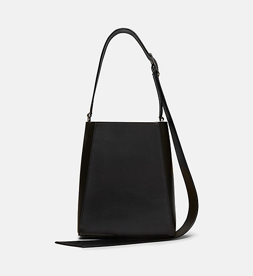 CALVINKLEIN Small Bucket Bag With Bandana - BLACK - CALVIN KLEIN SHOES & ACCESSORIES - detail image 1