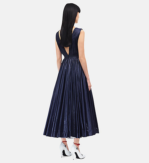 CALVINKLEIN Deep V-Neck Couture Tent Dress - NAVY - CALVIN KLEIN CLOTHES - detail image 1