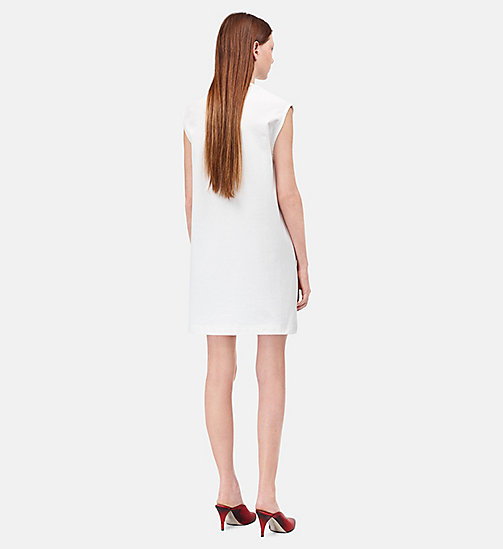 CALVINKLEIN Little Electric Chair Sleeveless Dress - WHITE/RED - CALVIN KLEIN CLOTHES - detail image 1