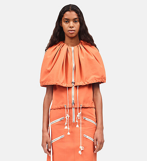 CALVINKLEIN Tent Sleeveless Top - BRIGHT RUST -  CLOTHES - main image