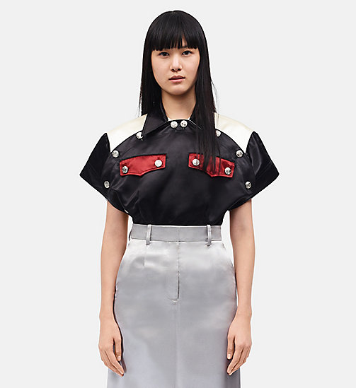CALVINKLEIN Diner Uniform Round Shirt - BLACK -  CLOTHES - main image