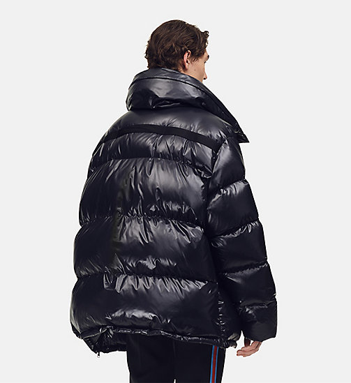 205W39NYC Oversized Nylon Puffer Jacket - BLACK - 205W39NYC CLOTHES - detail image 1