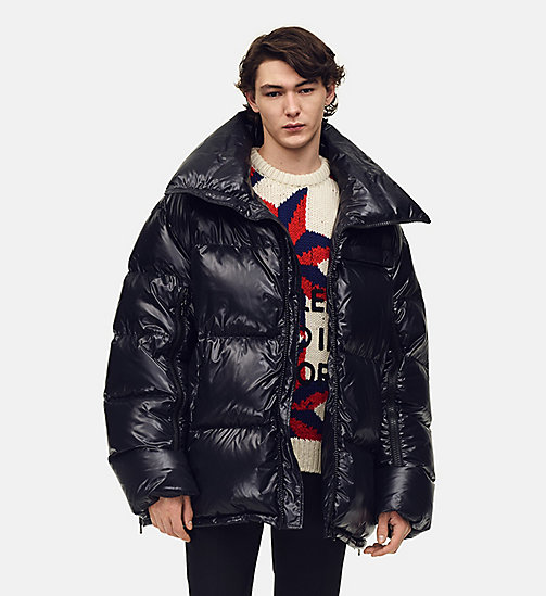 205W39NYC Oversized Nylon Puffer Jacket - BLACK - 205W39NYC CLOTHES - main image