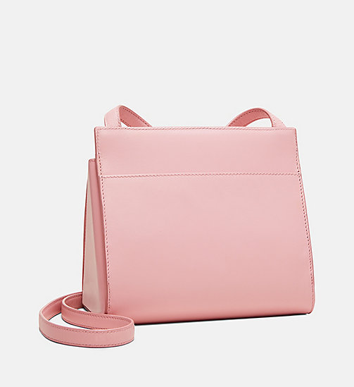 205W39NYC Embossed Flap Crossbody in Calf Leather - PINK PANTER - 205W39NYC SHOES & ACCESSORIES - detail image 1