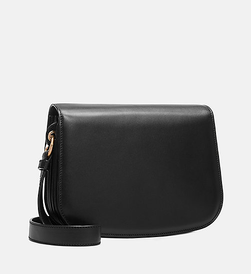 205W39NYC Small Shoulder Bag in Palmellato Leather - BLACK - 205W39NYC SHOES & ACCESSORIES - detail image 1