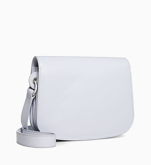 205W39NYC Small Shoulder Bag in Palmellato Leather - CLOUD - 205W39NYC SHOES & ACCESSORIES - detail image 1