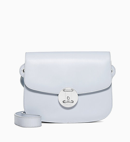 205W39NYC Small Shoulder Bag in Palmellato Leather - CLOUD - 205W39NYC SHOES & ACCESSORIES - main image