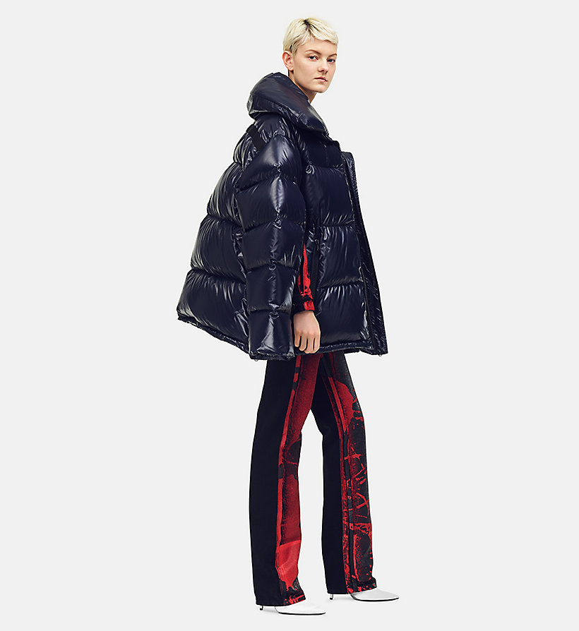 205W39NYC Steppjacke aus Nylon im Oversize-Design - ORANGE RED - 205W39NYC DAMEN - main image
