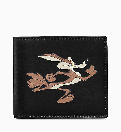 205W39NYC Wile E. Coyote Classic Wallet - BLACK - 205W39NYC SHOES & ACCESSORIES - main image