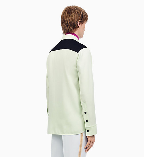 205W39NYC Klassisches Uniform-Shirt im Marschkapellen-Stil - ARCADIAN GREEN BLACK -  KLEIDUNG - main image 1