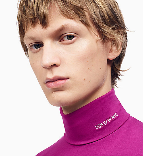 205W39NYC 205W39NYC Turtleneck T-shirt - HIBISCUS - 205W39NYC CLOTHES - detail image 1