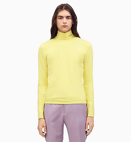 205W39NYC 205W39NYC Turtleneck T-shirt - CITRON - 205W39NYC CLOTHES - main image
