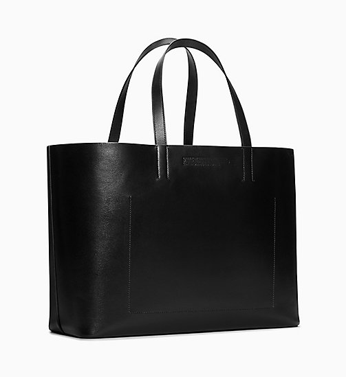 205W39NYC Wile E. Coyote Soft Tote in Leather - BLACK - 205W39NYC SHOES & ACCESSORIES - detail image 1