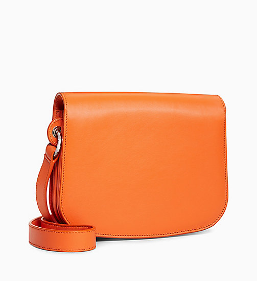 205W39NYC 5 Deaths Small Shoulder Bag in Leather - ORANGE - 205W39NYC SHOES & ACCESSORIES - detail image 1
