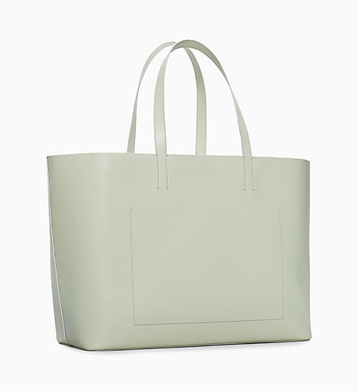 205W39NYC Road Runner Soft Tote in Leather - MIST - 205W39NYC SHOES & ACCESSORIES - detail image 1