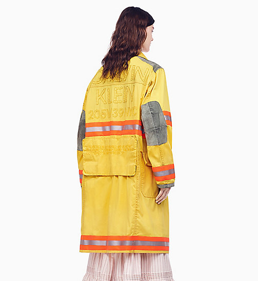 205W39NYC Distressed Fireman Coat - TOURNESOL - 205W39NYC CLOTHES - detail image 1