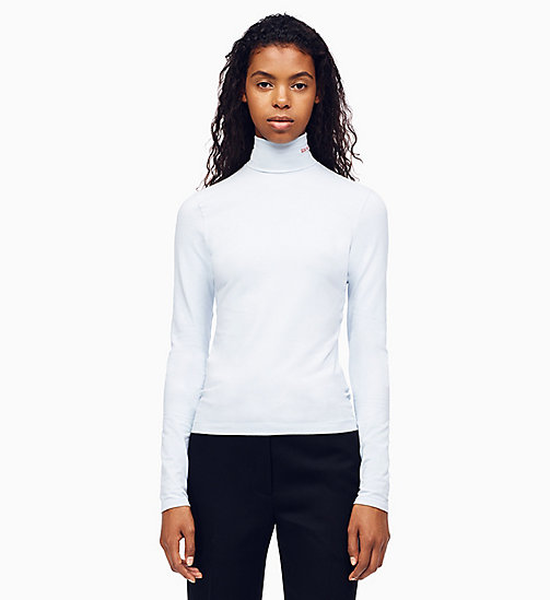 205W39NYC 205W39NYC Turtleneck T-shirt - LIGHT BLUE - 205W39NYC CLOTHES - main image