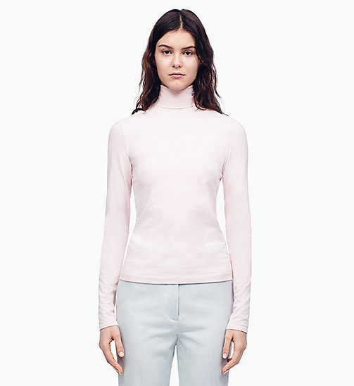 205W39NYC 205W39NYC Turtleneck T-shirt - PALE PINK - 205W39NYC CLOTHES - main image