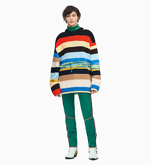205W39NYC Mixed Stripe Knit Jumper - MULTICOLOR 3 - 205W39NYC CLOTHES - main image