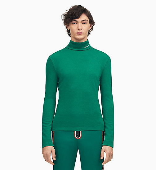 205W39NYC 205W39NYC Turtleneck - DARK MALACHITE - 205W39NYC CLOTHES - main image