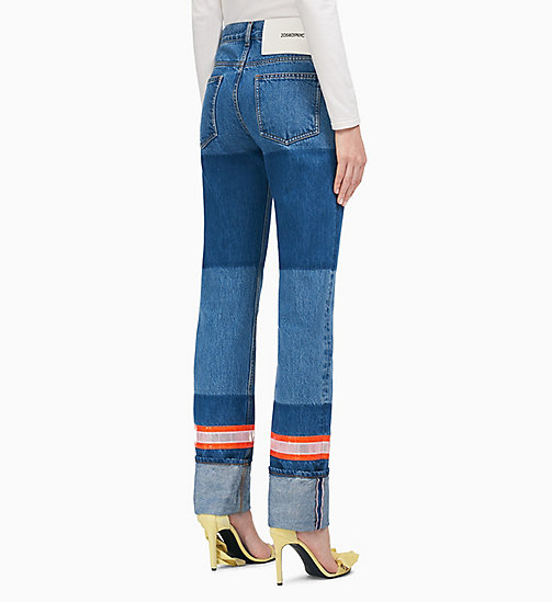 205W39NYC Indigo Denim Slim Leg Jeans - BLUE - 205W39NYC CLOTHES - detail image 1