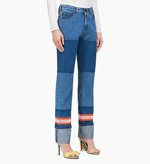 205W39NYC Indigo Denim Slim Leg Jeans - BLUE - 205W39NYC CLOTHES - main image