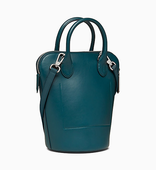 205W39NYC Mini Bucket Bag in Nappa Leather - DARK TURQUOISE - 205W39NYC SHOES & ACCESSORIES - detail image 1