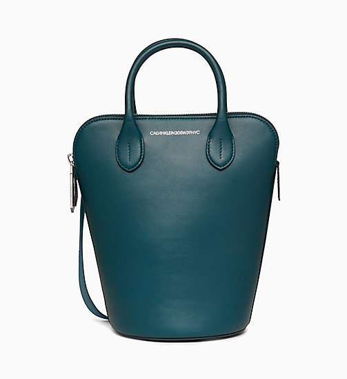 205W39NYC Mini Bucket Bag in Nappa Leather - DARK TURQUOISE - 205W39NYC SHOES & ACCESSORIES - main image
