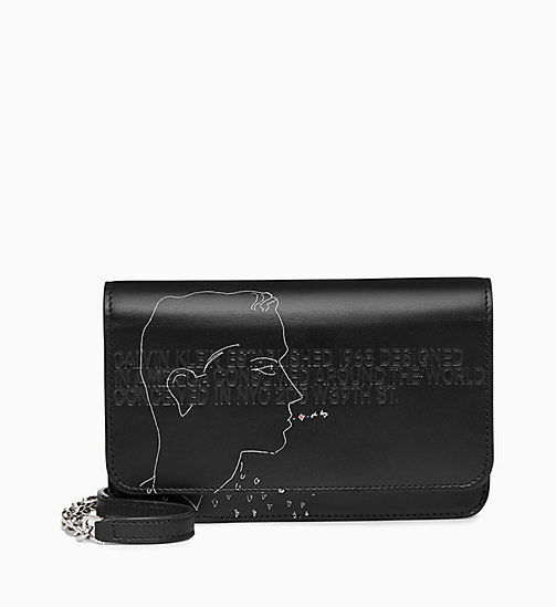 205W39NYC Andy Warhol Mini Leather Cross Body Bag - BLACK - 205W39NYC SHOES & ACCESSORIES - main image