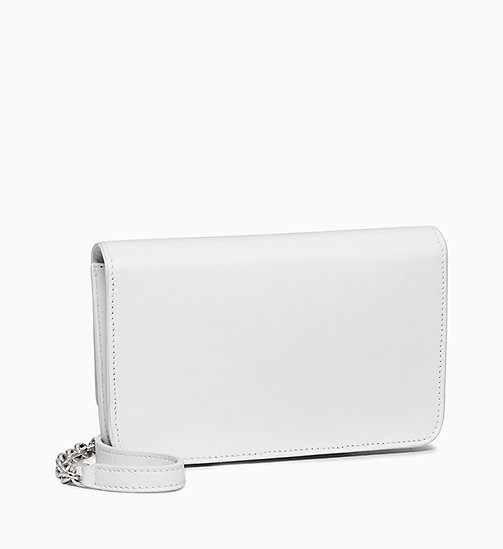205W39NYC Andy Warhol Mini Leather Cross Body Bag - OPTIC WHITE - 205W39NYC SHOES & ACCESSORIES - detail image 1